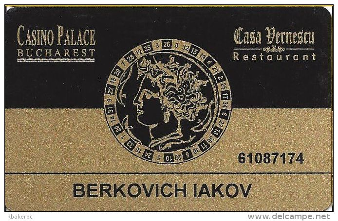 Casino Palace Bucharest Romania Slot Card - Casino Cards