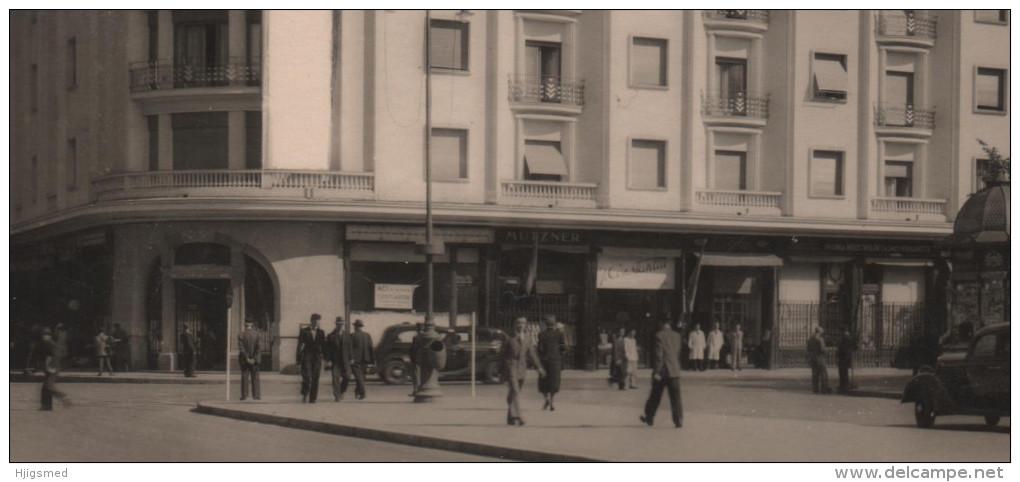 Europe Romania Bucuresi Bukarest Athénée Palace Hotel Car Shop Auto Post Card Postkarte Karte Carte Postale POSTCARD - Romania