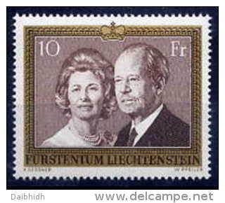 LIECHTENSTEIN 1974 10 Fr. Definitive MNH (**) - Liechtenstein