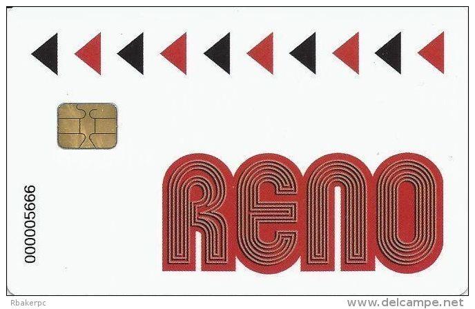Reno Casino Card Belgium With Smart Chip - Casino Cards