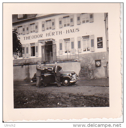 Foto Theodor-Hürth-Haus - Kolping-Heim - Ca. 1950 - 5,5x5,5cm (19892) - Orte