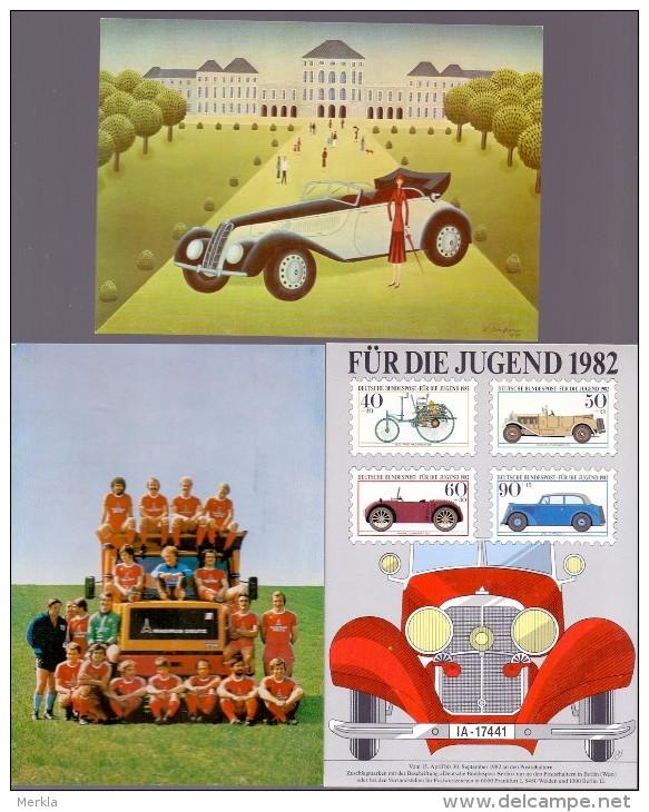 Ansichtskarten - Automobil - DEUTSCHLAND (146-114) - Voitures De Tourisme