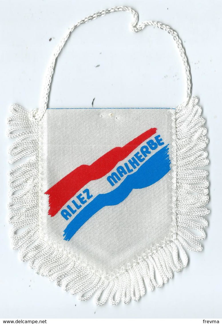 Fanion Football L'équipe De Caen Stade Malherbe - Apparel, Souvenirs & Other
