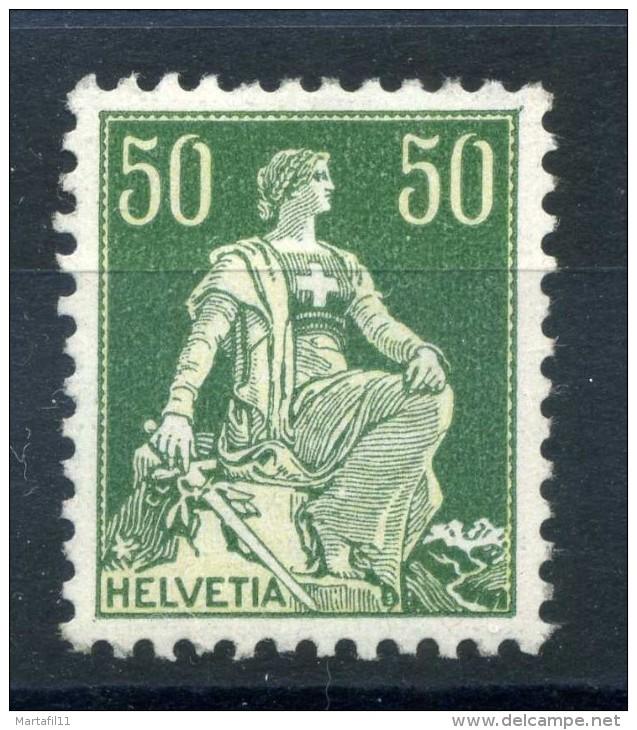 1908 SVIZZERA N.124A ** - Svizzera