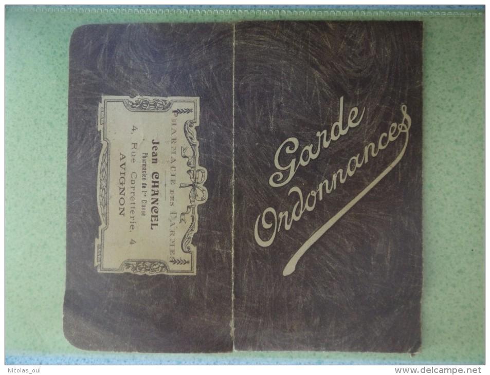 84 AVIGNON CHANCEL Rue CARRETTERIE PHARMACIE CARMES  GARDE ORDONNANCES - Publicités