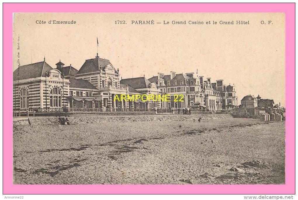 CPA  PARAME  Le Grand Casino Et Le Grand Hotel - Parame