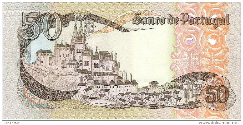 Portugal  - Pick 174 - 50 Escudos 1968 - Unc - Portogallo
