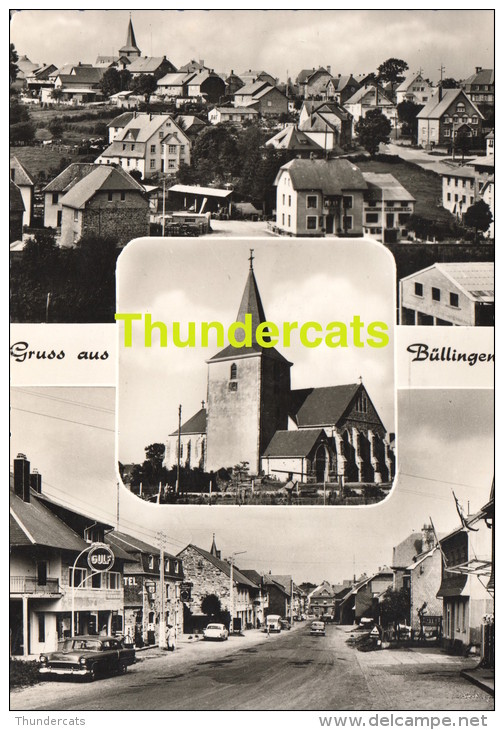 CPSM GRUSS AUS BULLINGEN BULLANGE - Bullange - Buellingen