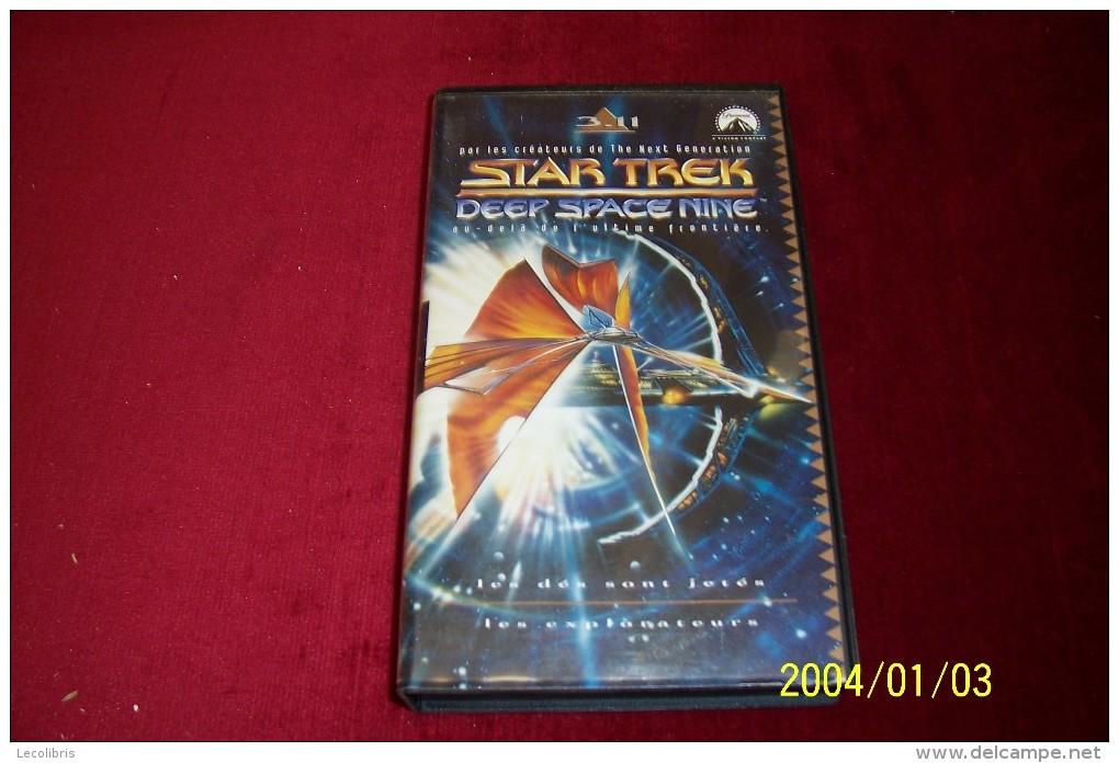 STAR TREK  °  DEEP SPACE  NINE ° LES DES SONT JETES + LES EXPLORATEURS - Ciencia Ficción Y Fantasía