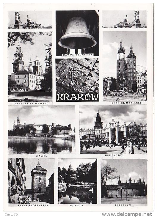 Pologne - Krakow - Panoramas - Pologne
