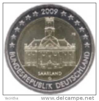 @Y@  Duitsland  2 Euro Commemorative  2009  G - Deutschland