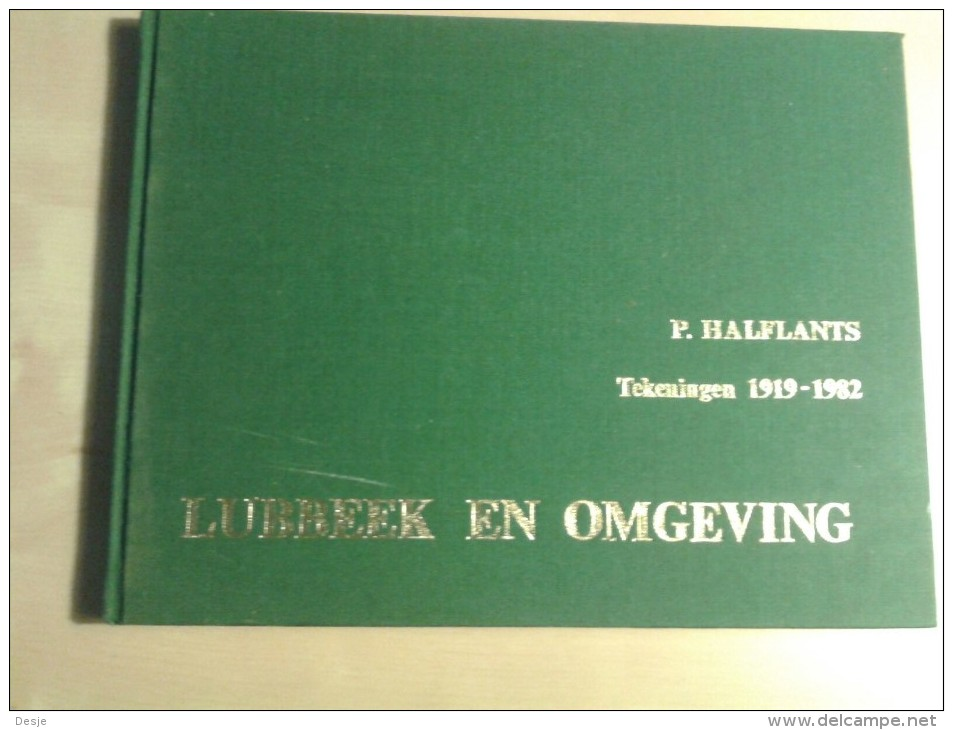 Lubbeek En Omgeving Tekeningen1919-1982 Door P. Halflants 1982, 113 Blz. - Libros, Revistas, Cómics