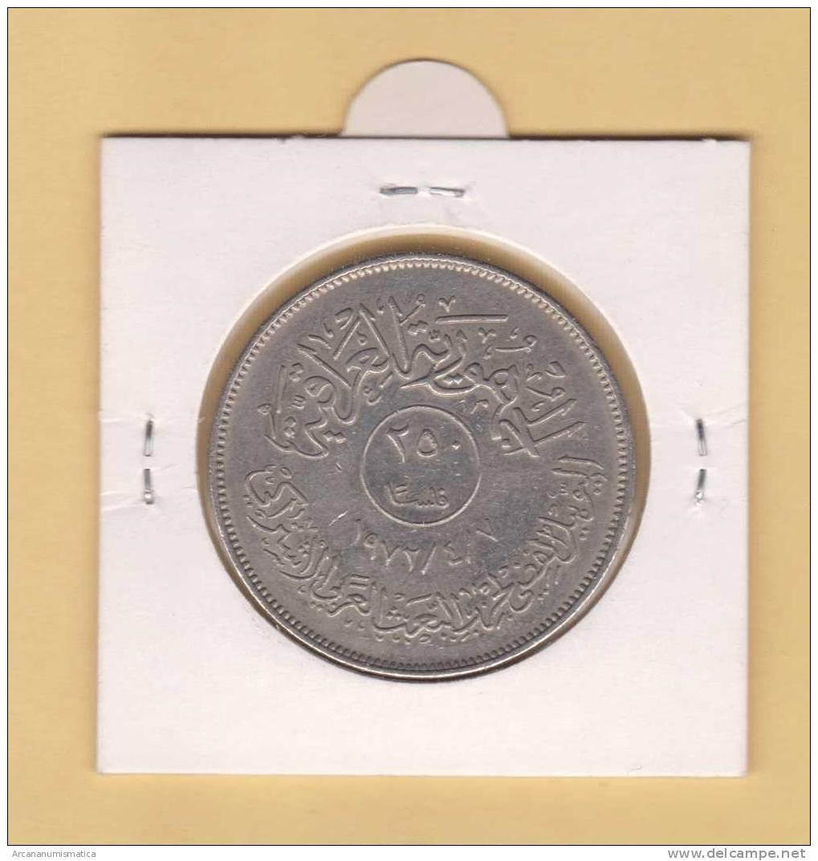 IRAK  250  FILS  1.972  KM#136   NIQUEL  EBC/XF   DL-8624 - Iraq