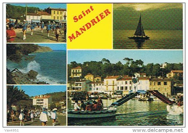 SAINT MANDRIER EN FETES SES JOUTES ET SES MAJORETTES - Saint-Mandrier-sur-Mer