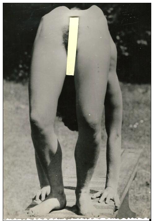 JEUNE FILLE NUE NAKED NATURISTE DANOISE VINTAGE ANNÉES 60 EXHIBITION SEXE ORIGINALE - Belleza Feminina (1941-1960)