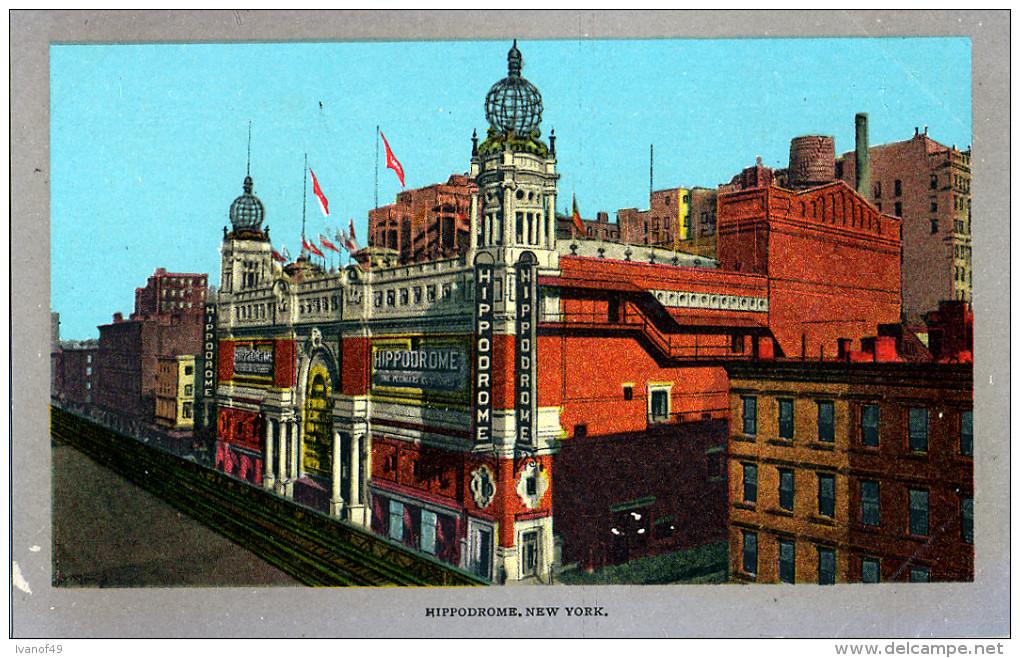 ETATS-UNIS - NEW YORK - HIPPODROME - Autres Monuments, édifices
