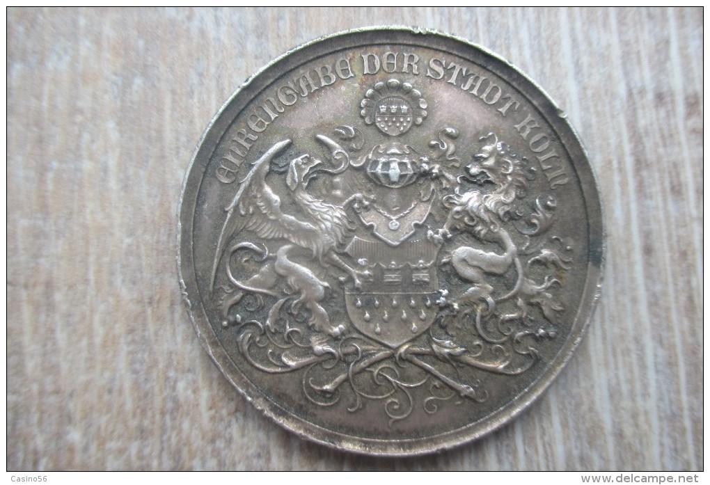 Ehrengabe Der Stadt Köln Piece Medaille Allemagne - Allemagne