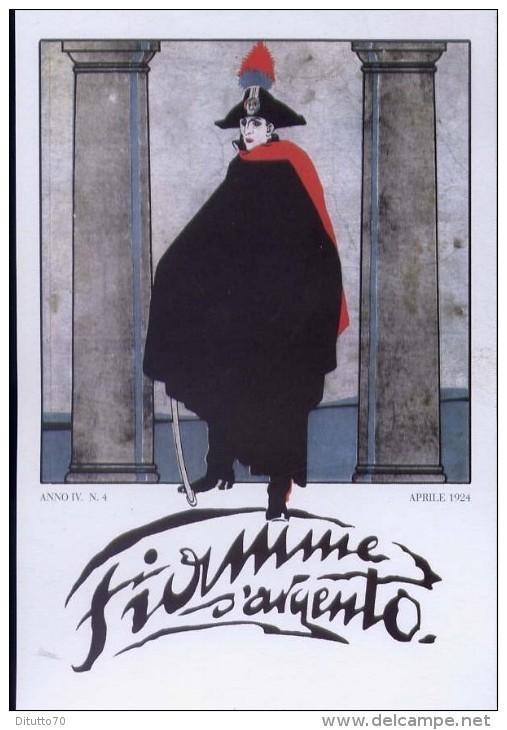 Fiamme Argento - Anno IV - 4 Aprile 1924 - Carabinieri - Formato Grande Non Viaggiata - Altri