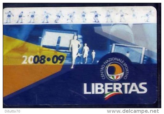 Tessera - Libertas - C.n.s. - 2008-2009 - Non Classificati