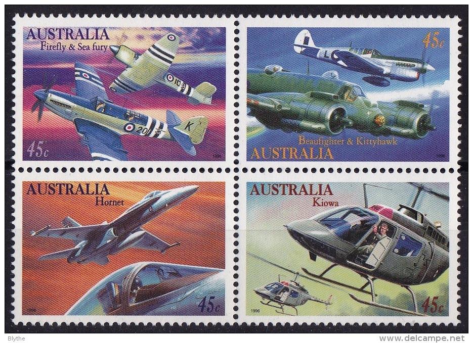 AUSTRALIA  SC#1484a  MNH   Military Aviation  (1996) - Guam