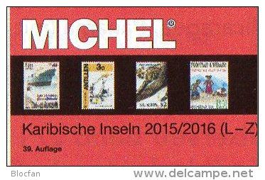 MICHEL Karibik Amerika 2/2 K-Z Katalog 2015/2016 Neu 84€ Kuba Lucia Montserrat Nevis Rico Tobago Turks/Caicos St.Vincent - Books, Magazines, Comics