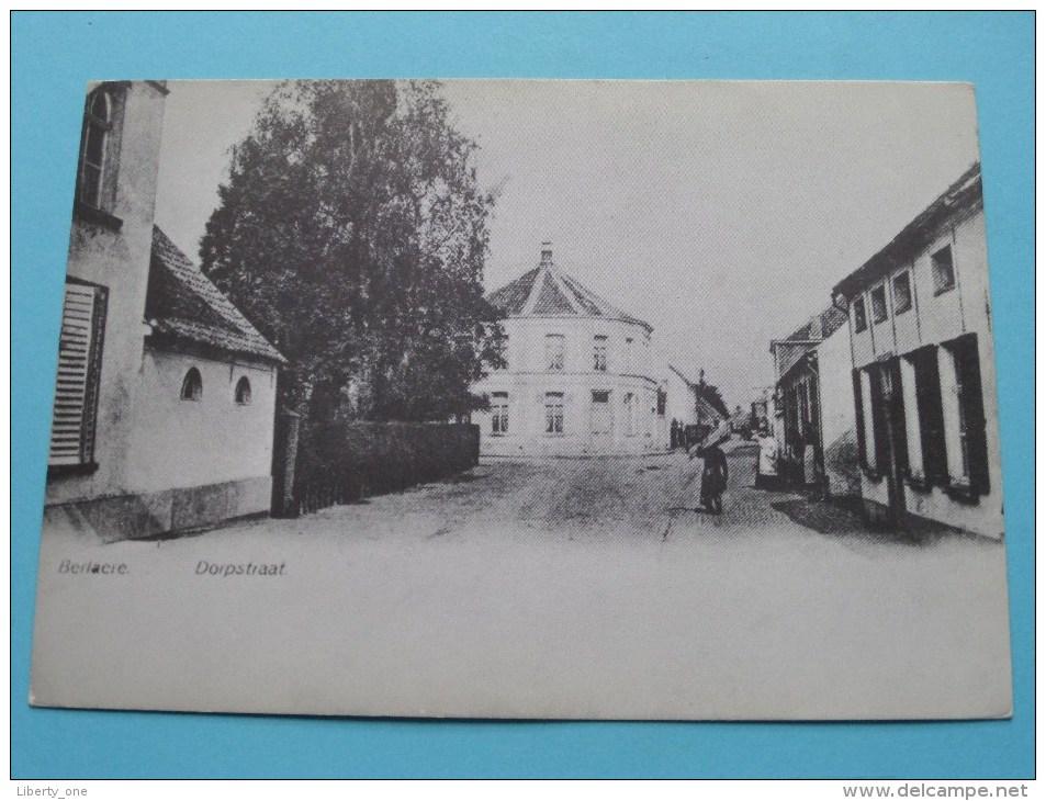Dorpstraat BERLAERE () Copie / Copy ( Zie/voir Foto Voor Details ) Repro !! - Berlare
