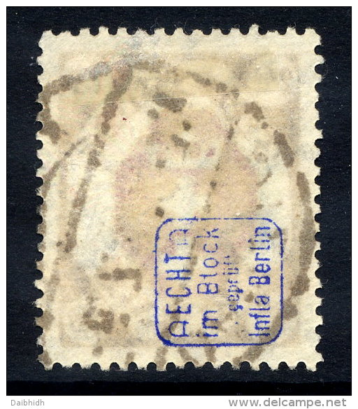 DANZIG 1922 Official  Arms 2.40 Mk., Postally Used, Expertised.   Michel 19 - Danzig