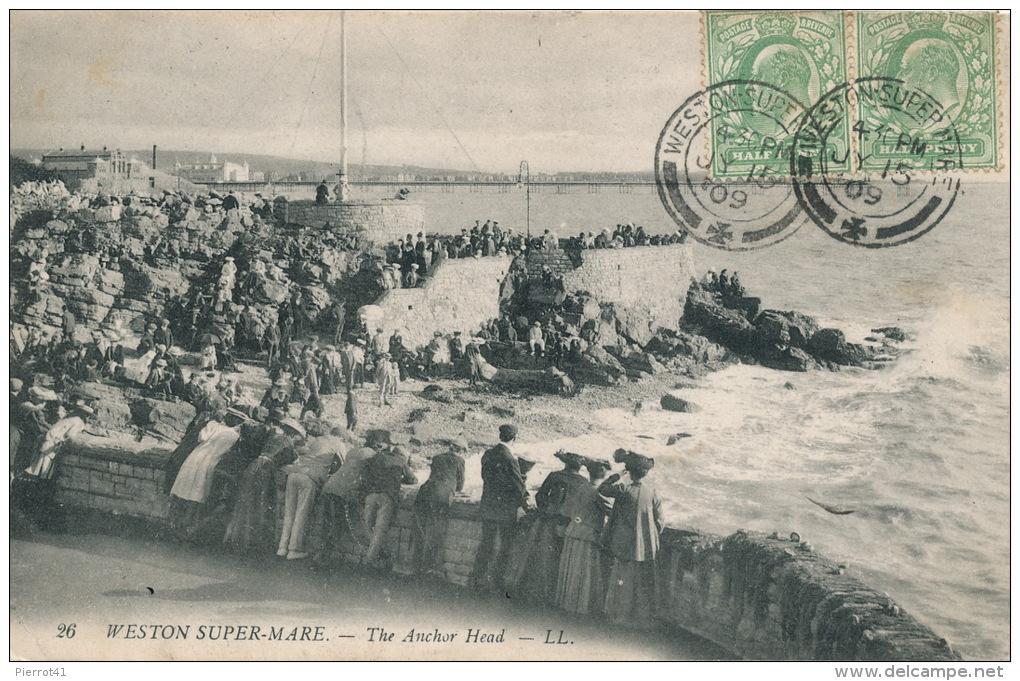 ROYAUME UNI - WESTON SURPER MARE - The Anchor Head - Weston-Super-Mare