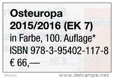 MICHEL Europa Part 1-7 Stamps Catalogue 2015/2016 New 486€ A B CSR DK E F GR HU I IS LUX N NL P PL RU S UK USSR SF TK UA - Autres Collections