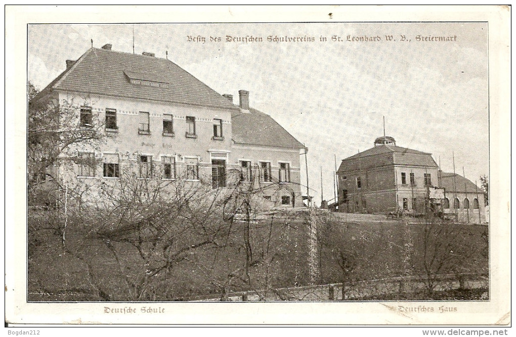 1905/20 - St.LEONHARD, GRAZ, Gute Zustand, 2 Scan - Graz