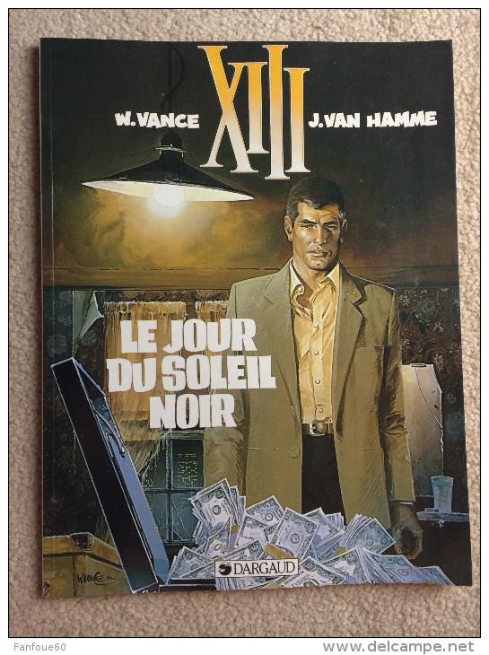 XIII - 01. Le Jour Du Soleil Noir (1999, TTBE) Pub - XIII
