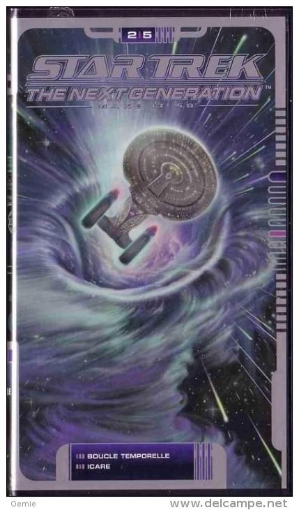 STAR TREK  °°°° The Next Generation  Volume  25  °°°  Boucle Temporelle / Icare - Sciences-Fictions Et Fantaisie