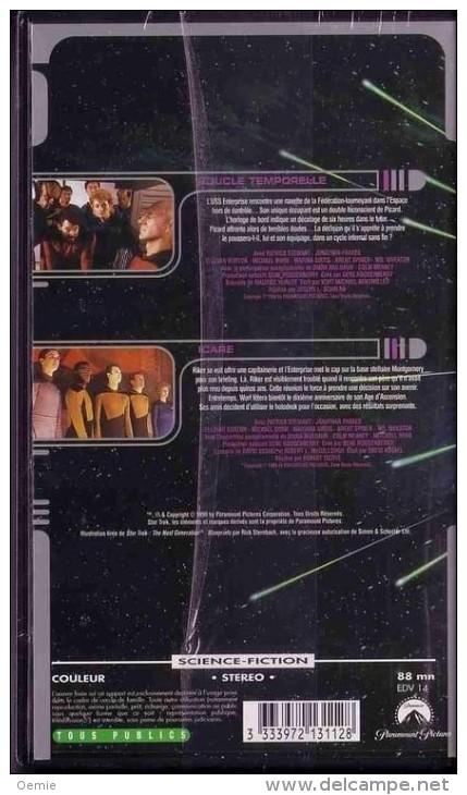 STAR TREK  °°°° The Next Generation  Volume  25  °°°  Boucle Temporelle / Icare - Ciencia Ficción Y Fantasía