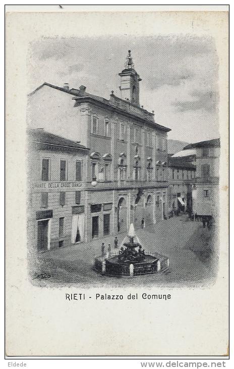 Rieti Palazzo Del Comune  Ristorante Della Croce Blanca - Rieti