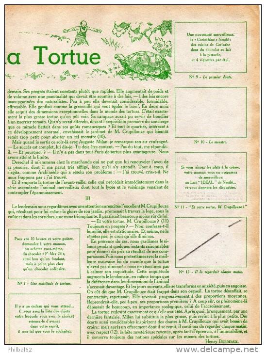 Lot De 11 Images Nestlé, 1936-37, La Soupe à La Tortue, Une Farce De Henri Bordeaux. - Nestlé