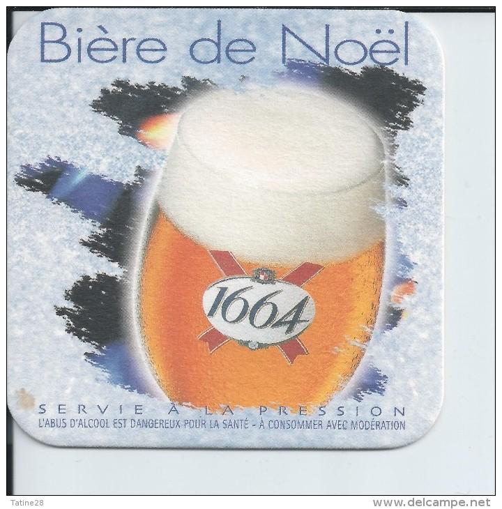 SOUS BOCK BIÈRE DE NOEL 1664 - Sous-bocks