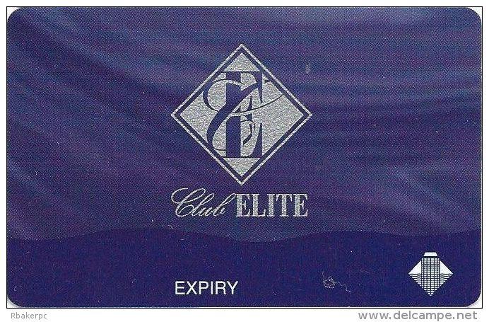 Wrest Point Hotel Casino Australia Club Elite Card - Casino Cards