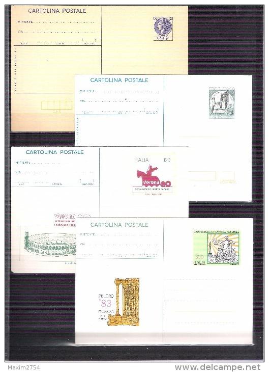 N. 8 CARTOLINE POSTALI NUOVE - TUTTE DIFFERENTI - 6. 1946-.. Repubblica
