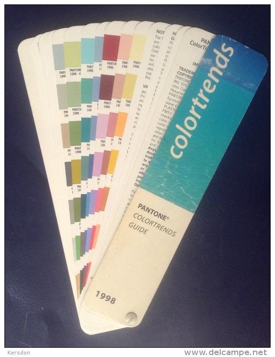 Pantone Colortrends Guide De 16 Pages De 1998 - Sciences & Technique