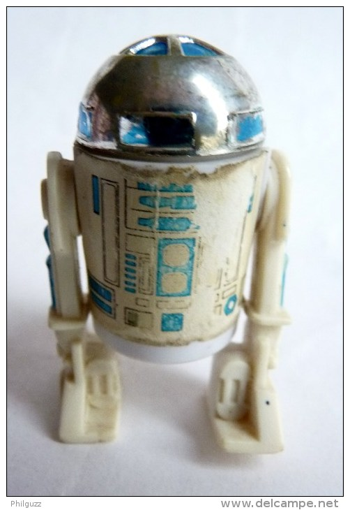 FIGURINE FIRST RELEASE  STAR WARS 1978 R2-D2 MADE IN HONG KONG - First Release (1977-1985)