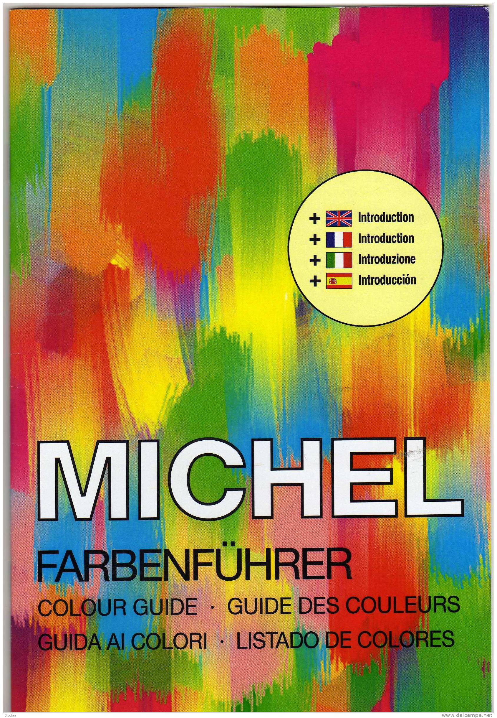 MICHEL Farbenführer 2011 In English Motivation New 89€ Profi-tips And Stamps Collect Informations Catalogueguide Germany - Engels