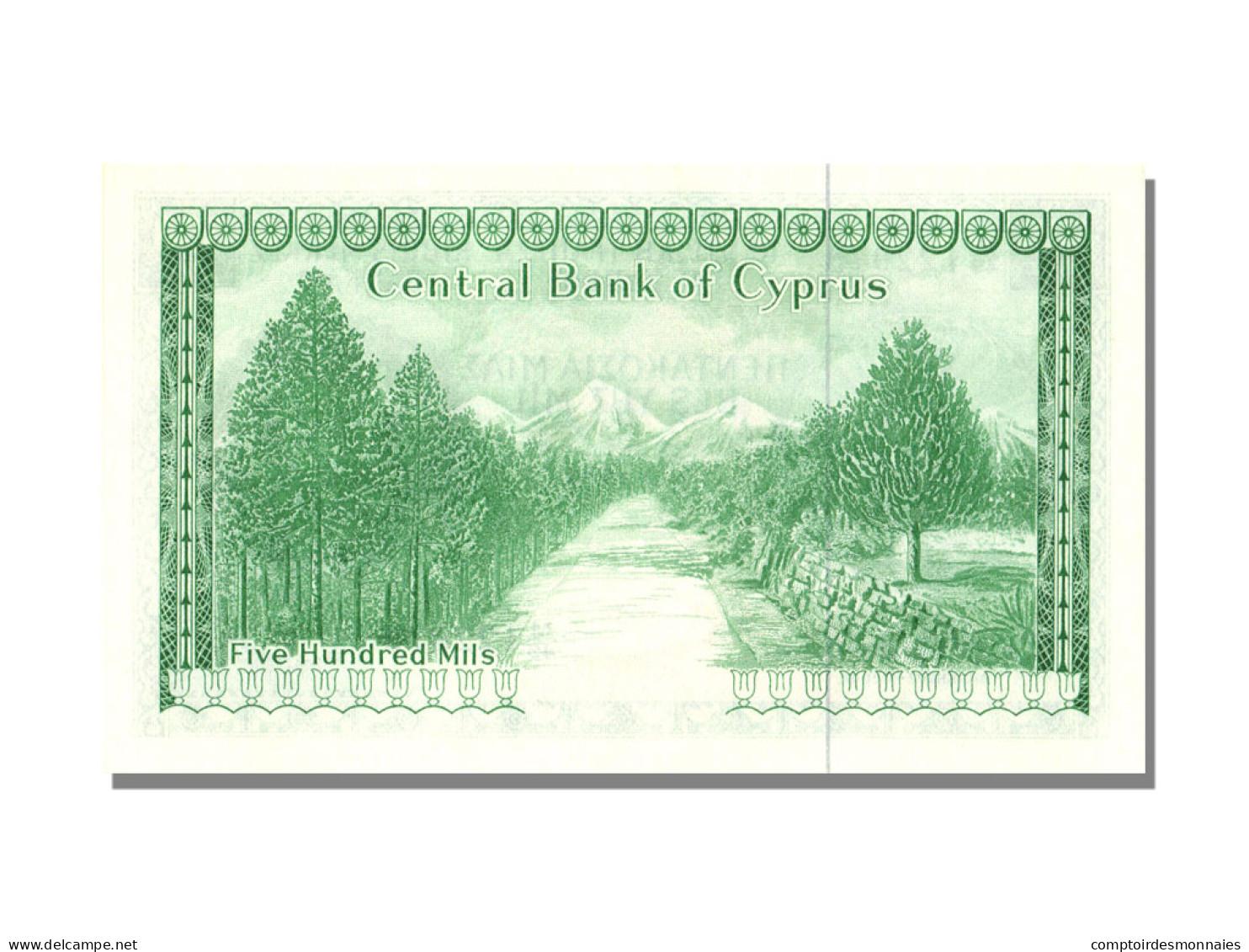 500 Mils Type 1964-66 - Chypre