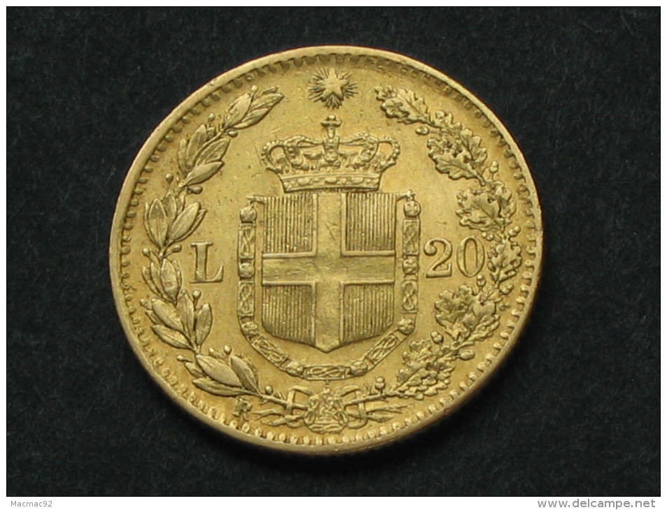 20 Lire OR 1881 -Gold - UMBERTO I RE D'ITALIA  **** EN ACHAT IMMEDIAT **** - 1878-1900 : Umberto I