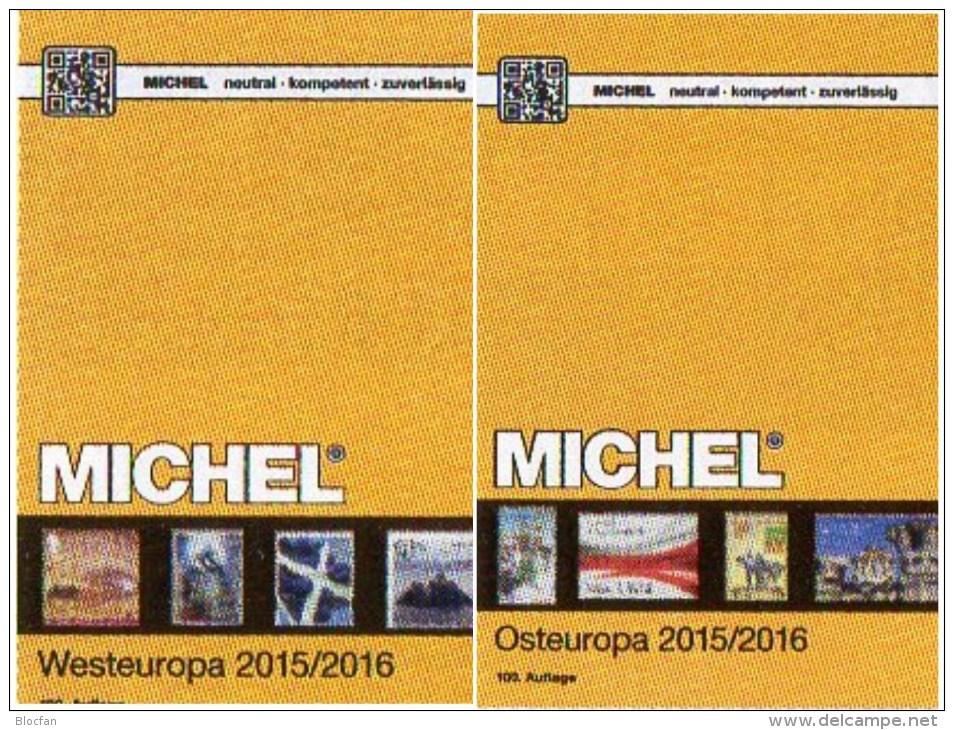 Germany+Europa Band 1-7 Stamp Katalog MICHEL 2016 Neu 538€ D A B BG CZ DK E F GR HU I IS L N NL P PL RU S UK SU SF TK UA - Zubehör