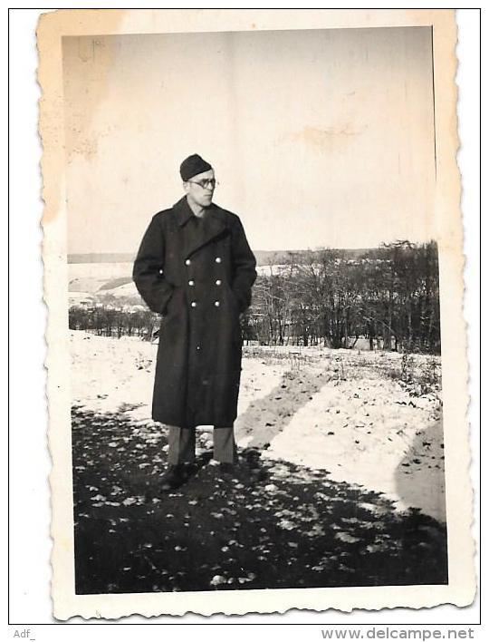 @ SOLDAT FRANCAIS DU 24 ème BATAILLON En 1946-47 FORCE FRANCAISE EN ALLEMAGNE A DIEZ ( DIETZ ) - Diez