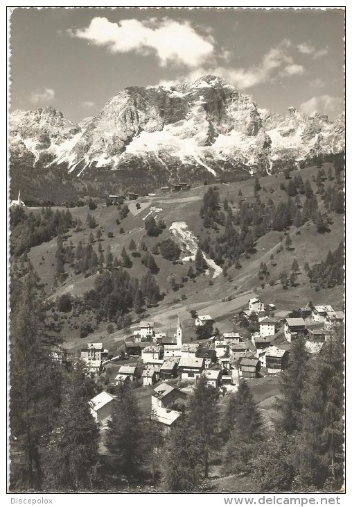 Y2063 Zoldo Alto (Belluno) - Brusadaz - Monte Civetta - Panorama / Viaggiata 1959 - Italia