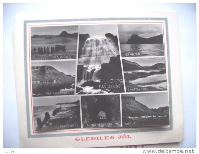IJsland Iceland Island Gledileg Jol Reidskörd Vatnsfirdi Fra Vigus Hornsbjarg Nupur - IJsland