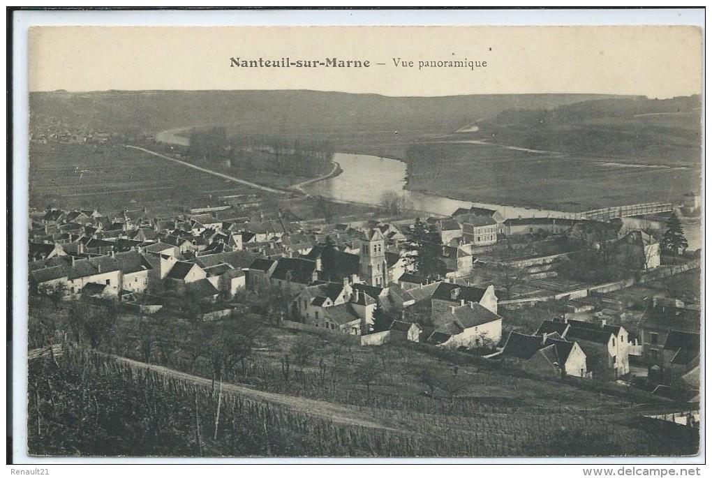 Nanteuil-sur-Marne-Vue Panoramique-(CPA) - France