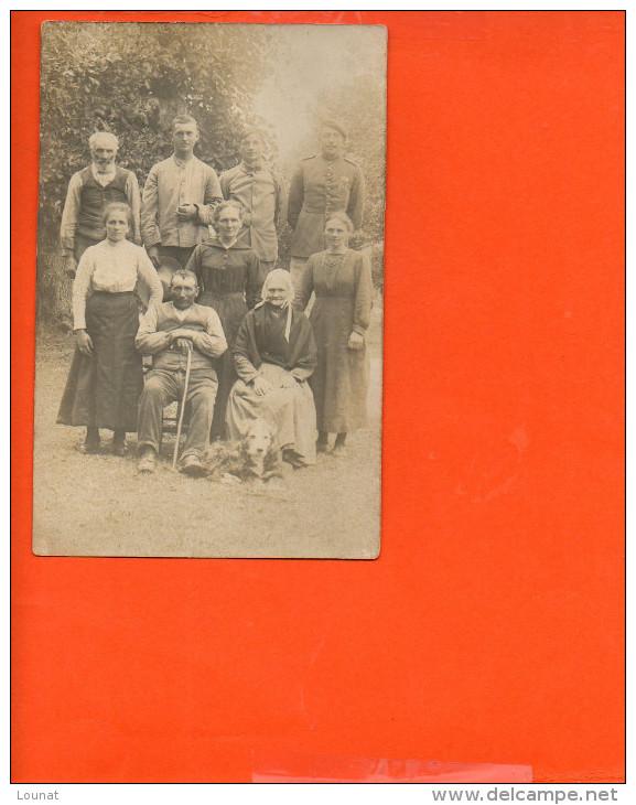 Photo De Famille - à Identifier - Cartes Postales