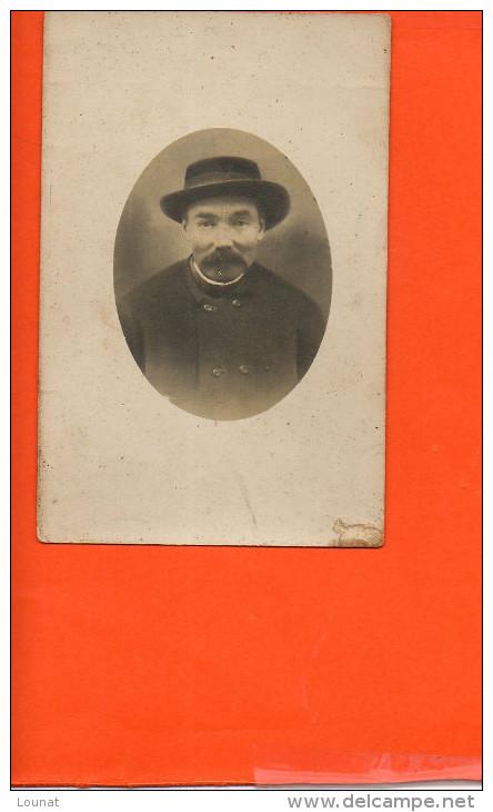Carte Photo à Identifier - Homme - A Identifier